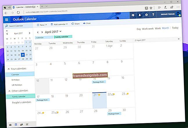 Opzioni del calendario di Microsoft Outlook