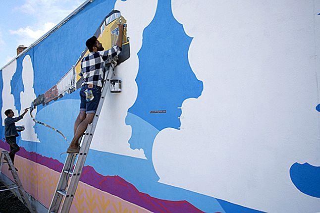 Come avviare un'attività di pittura murale
