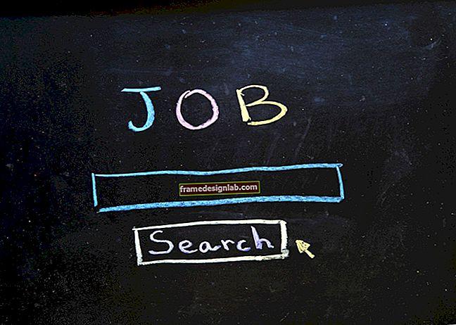 Tre tipi di lettere relative all'occupazione