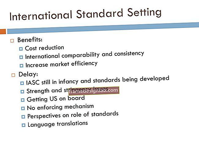 Quali sono i vantaggi dell'impostazione degli standard contabili FASB?