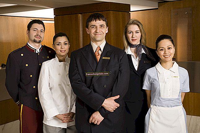 Competenze nel settore dell'ospitalità