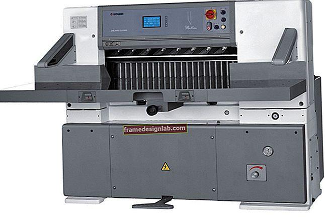 Tecnologia della macchina per il taglio della carta