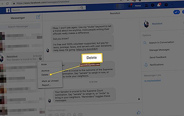 Come cancellare la cronologia chat dei messaggi istantanei in Windows Messenger